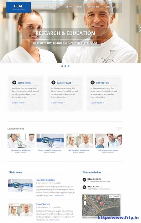 Heal-Medical-WordPress-Theme