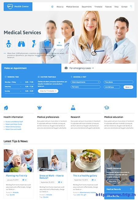 Health-Medical-Center-WordPress-Theme