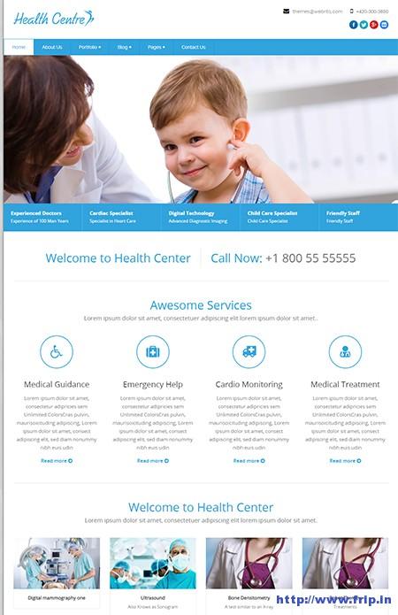 Healthcentre-WordPress-Theme
