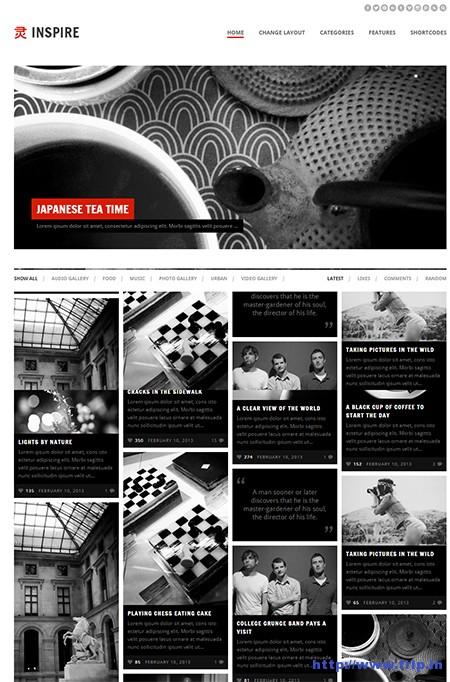 Inspire-Masonry-WordPress-Theme
