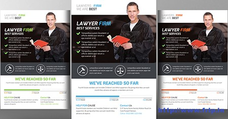 Lawyer-Firm-Flyer-Templates