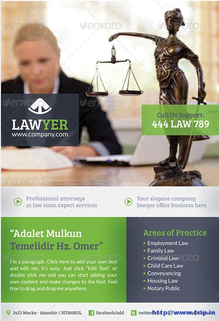 Lawyer-Flyer-Template