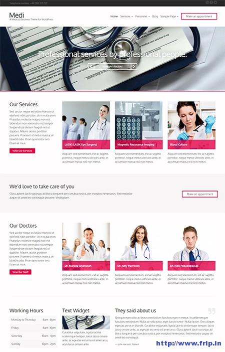 Medi-Responsive-WordPress-Theme