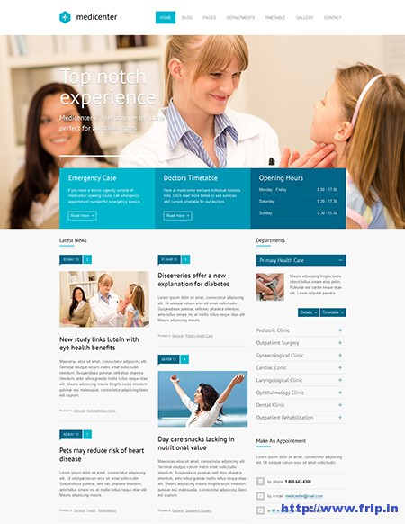 MediCenter-Medical-WordPress-Theme