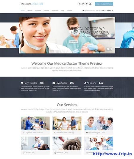 Medical-Doctor-WordPress-Theme