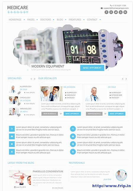 Medicare-Medical-WordPress-Theme