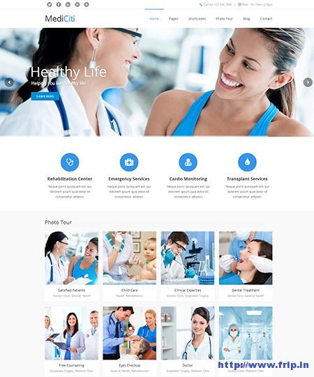 Mediciti-WordPress-Theme