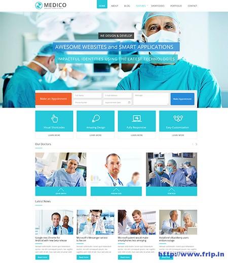 Medico-Medical-WordPress-Theme