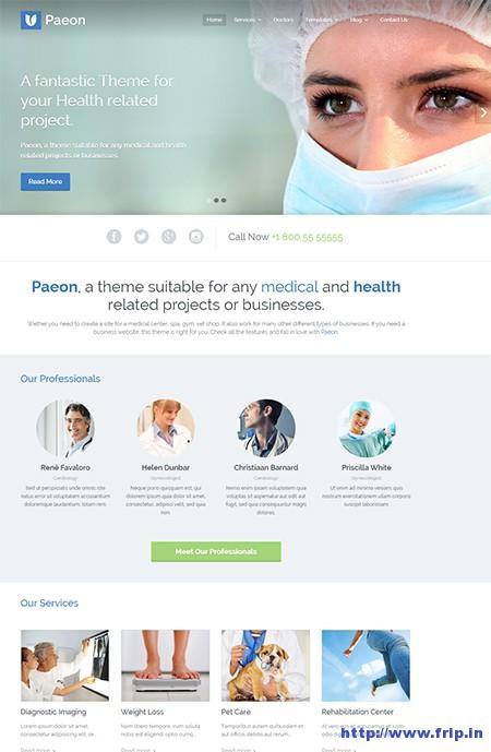 Peaon-Medical-WordPress-Theme