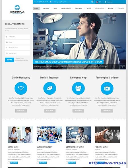 PharmaPlus-Medical-WordPress-Theme
