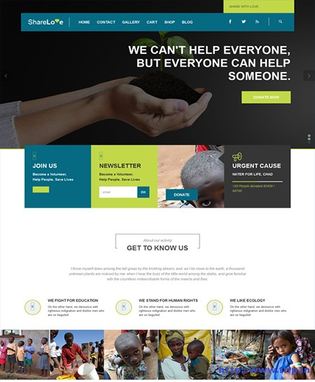 Share-Love-Charity-WordPress-Theme