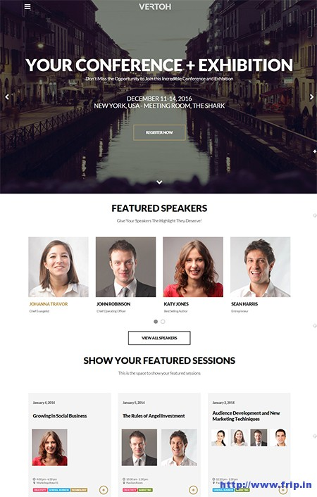 Vertoh-WordPress-Event-Theme
