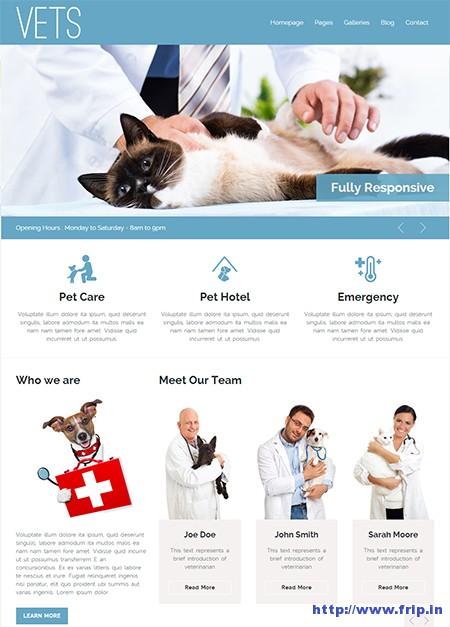 Vets-Medical-Health-WordPress-Theme