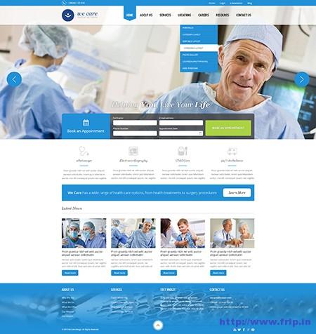 We-Care-Medical-WordPress-Theme