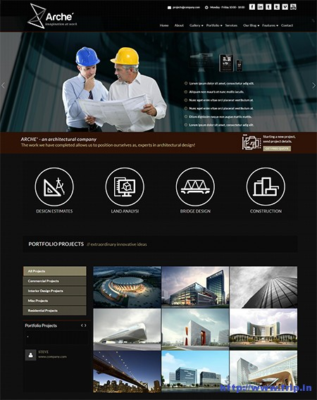 Arche-Architecture-WordPress-Theme