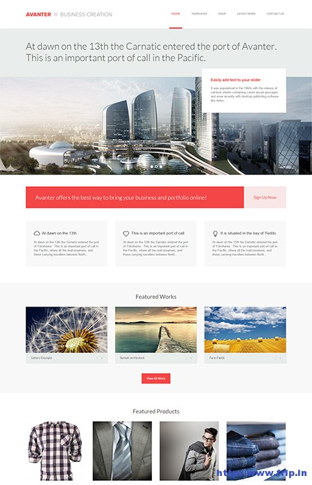 Avanter-Architecture-WordPress-Theme