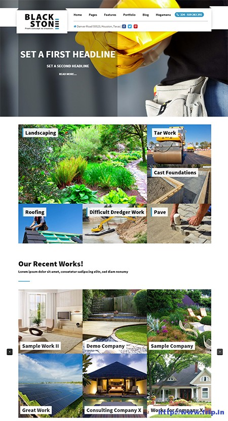 Blackstone-wordpress-theme