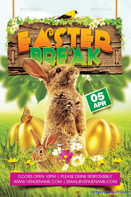 Easter-Break-Flyer-Template