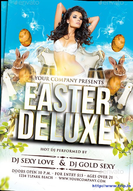 Easter-Deluxe-Party-Flyer