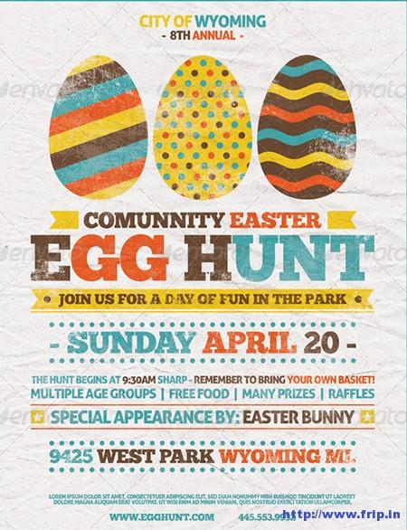 Easter-Egg-Hunt-Flyer-Templates