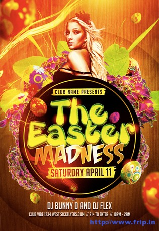 Easter-Madness-Party-Flyer