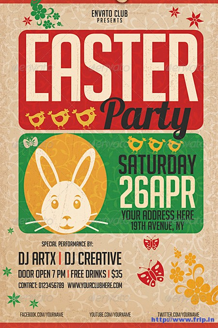 Easter-Party-Flyer