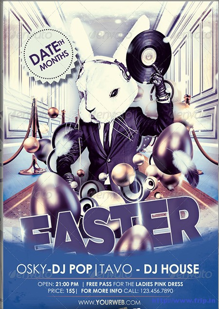 Easter-Party-Flyerss