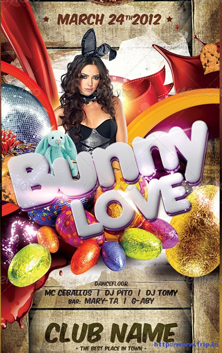 Easter-Theme-Party-Flyer