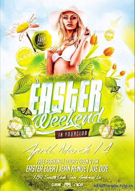 Easter-Weekend-Flyer-Template
