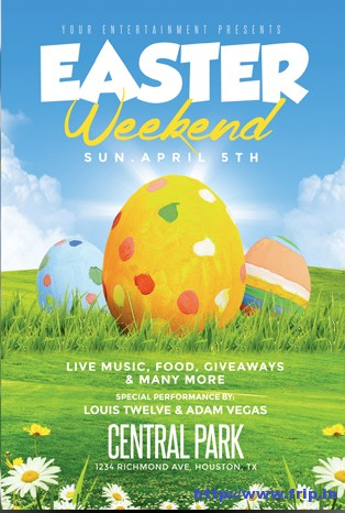 Easter-Weekend-Flyer-Templates