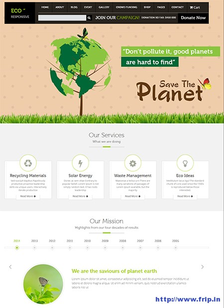 Eco-Environment-WordPress-Theme