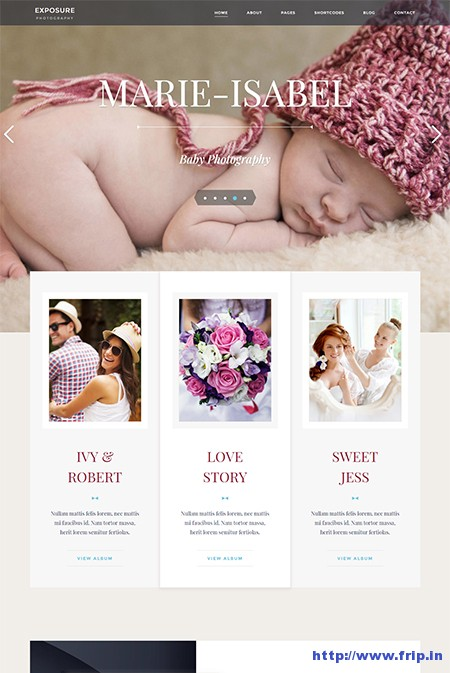 Exposure-Photography-WordPress-Theme