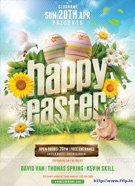 Happy-Easter-Flyer-Templatess