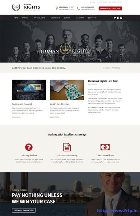 Human-Rights-Lawyer-WordPress-Theme