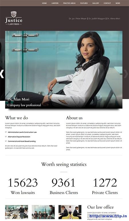 Justice-Lawyer-WordPress-Theme