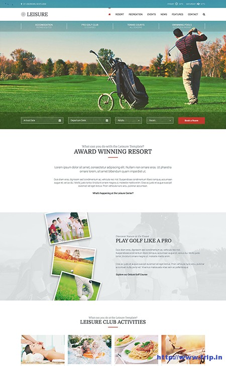 Leisure-Hotel-WordPress-Theme