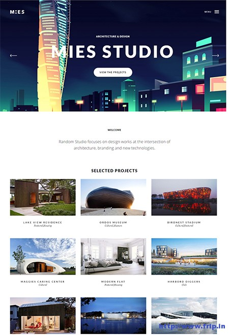 MIES-Architecture-WordPress-Theme