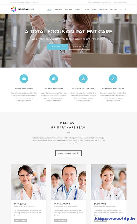 Medical-Plus-Health-WordPress-Theme