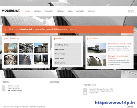 Modernist-Architecture-WordPress-Theme
