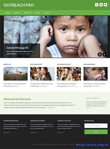 Outreach-WordPress-Theme
