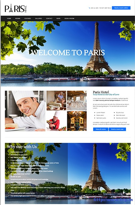 Paris-Holiday-WordPress-Theme