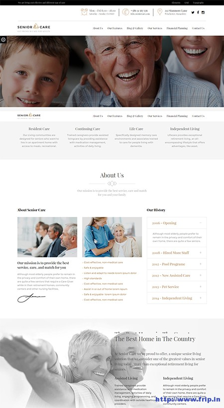 Senior-Health-&-Medical-WordPress-Theme