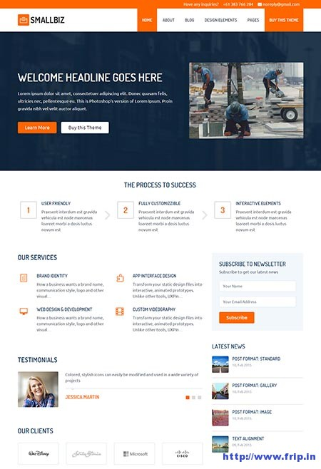 Small-Biz-Responsive-Business-Theme