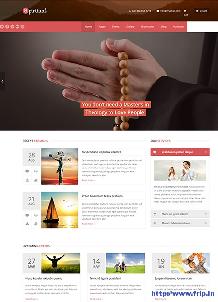 Spiritual-Church-WordPress-Theme