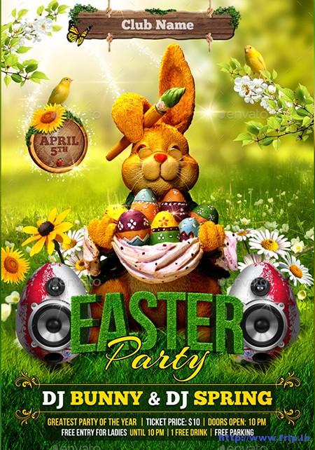 Spring-&-Easter-Flyer-Template