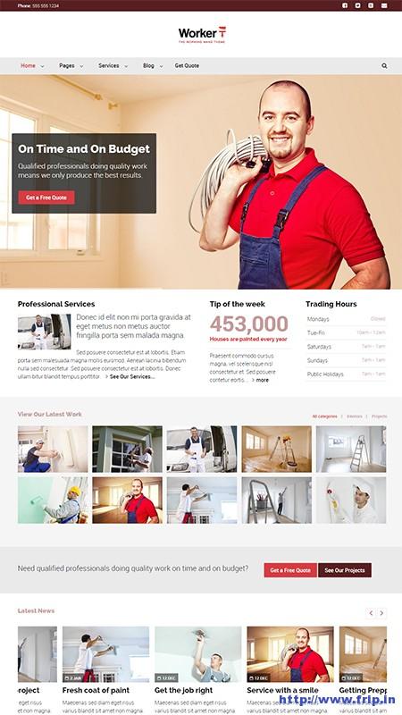 Worker-The-Working-Mans-WordPress-Theme