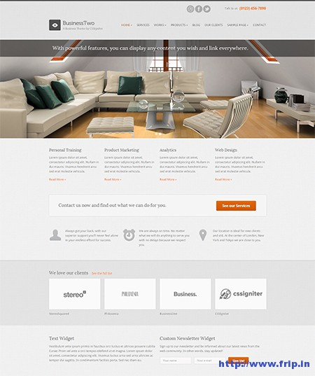business-two-wordpress-theme