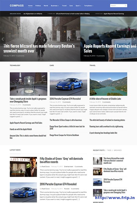 compass-wordpress-theme