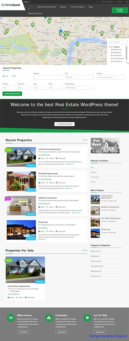 homequest-real-estate-directory-wordpress-theme