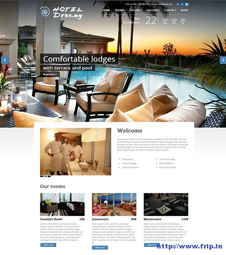 hotel-dreamy-wordpress-theme